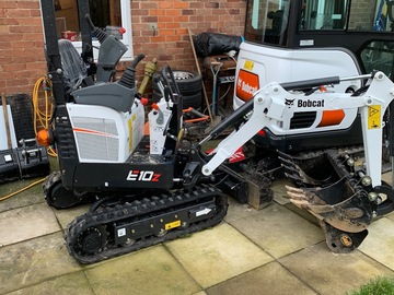 Daily Equipment Rental: Micro excavator only 740mm wide