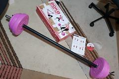 Selling: Gymstick pump set 20KG