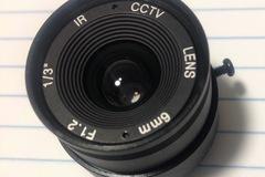 Make An Offer: Lot of 22 IR CCTV Box Camera Fixed 6mm Focus Length IR Board Lens