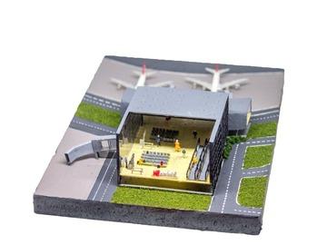 : Istanbul Airport Miniature Model
