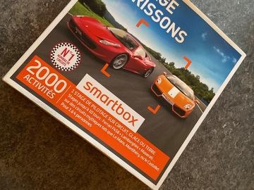 """Vente: Smartbox """"Pilotage et Frissons"""" (99,90€)"""