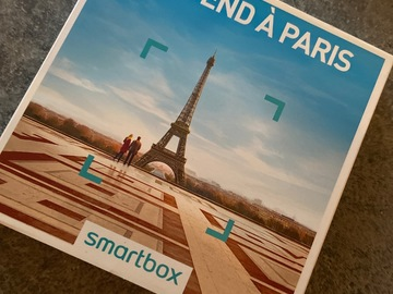 """Vente: Smartbox """"Week-end à Paris"""" (139,90€)"""