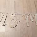 Ilmoitus: Mr & Mrs-viiri / kyltti