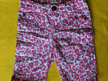 Kids: Girl Size 6 stretch Pink white Short est. 1989 Place