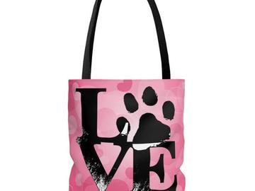 Selling: Love Tote Bag, Love Travel Bag, Love Diaper Bag, Love Purse, Shop