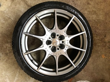 "Selling: 20"" RIMS & TIRES package"