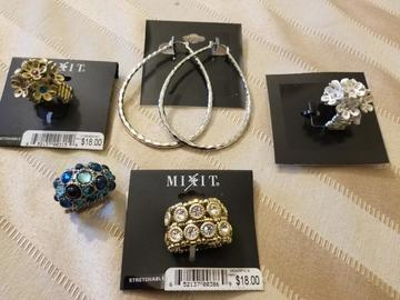 Buy Now: MIXIT BRAND JEWELRY LOT, NEW OVERSTOCK 100 pc LOT.