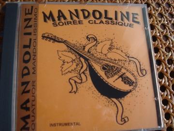 "Vente: CD ""Mandoline - soirée classique"""
