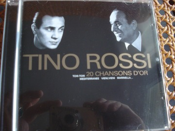 "Vente: CD Tino Rossi ""20 chansons d'or"""