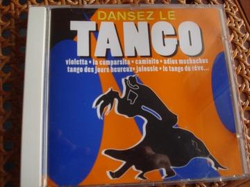 "Vente: CD ""Dansez le tango"""