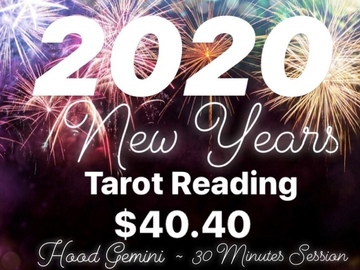Services Offered: New Year Tarot Reading