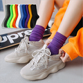 Buy Now: 200 Pairs of  Women's long stockings pure colors cotton socks