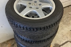 Selling: 16x7.5 Borbet Type E wheels with Michelin Pilot Sport tires