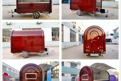 Make An Offer: Mobile Food Cart Trailer - CE Certified, Customized Food Truck