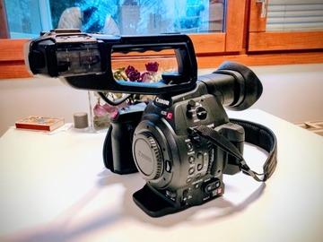Myydään: Canon EOS C100 Mark II Cinema Camera with  Dual Pixel