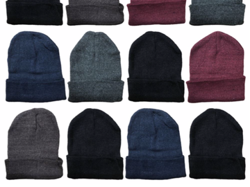 Buy Now: Wholesale Yacht - Smith Assorted Unisex Winter Warm Beanie Hats,