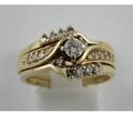 Buy Now: 1.80 Ct Round Cut Diamond 10k Yellow Gold Fn Engagement Wedding B