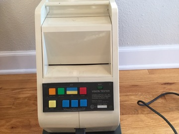 Selling with online payment: Stereo Optical Optec 2000 Stereo Vision Tester