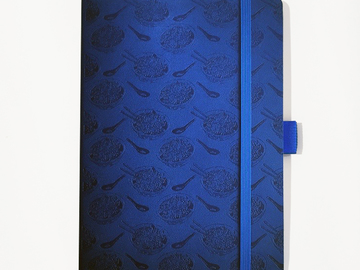 : Noodle Notebook - Blue