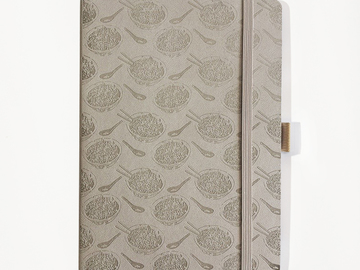 : Noodle Notebook - Taupe