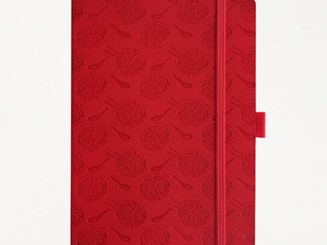 : Noodle Notebook - Red