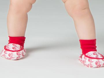 : Baozi Baby Booties