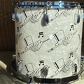 Selling with online payment: Custom drums. Top Hat and cane. Jazz sizes