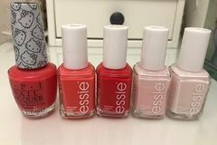 Venta: Pack esmaltes de uñas de essie y opi