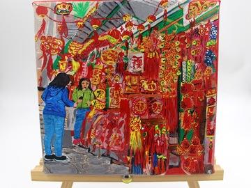 : Acrylic Painting : Pottinger Street