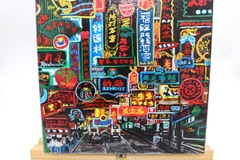 : Acrylic Painting : Neon signs