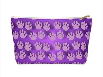 Selling: Paw Print Makeup Bag