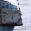 Products: DAKOTA HANDBAG - BLACK LEATHER