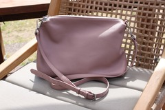 Products: MADDISON HANDBAG - LOTUS PINK LEATHER