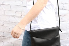 Products: STELLA HANDBAG - BLACK LEATHER