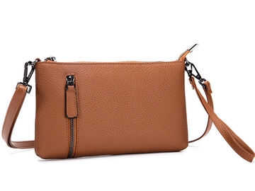 Products: TABATHA WALLET/HANDBAG - TAN LEATHER