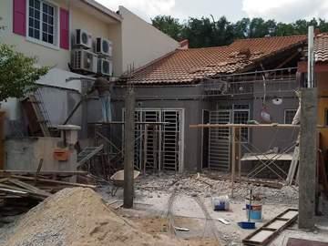 Services: Tukang rumah/renovation rumah nilai
