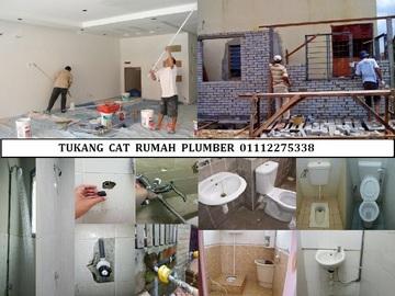 Services: tukang cat rumah plumber 01112275338 azis taman setapak indah