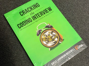 Myydään: [Reserved][NEW] Cracking the Coding Interview, 6th Edition