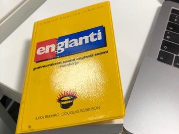 Myydään: Finnish-English/English-Finnish pocket dictionary