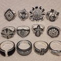 Buy Now: 65 piece Wholesale silver plated Jewelry lots