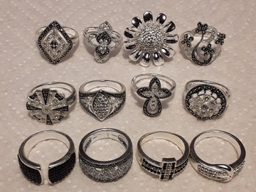 Buy Now: 125 piece High Quality Wholesale Silver plated Jewelry lots