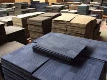 Material For Sale: Used Office Carpet Tiles