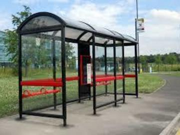 Material For Sale: Used Bus Shelter