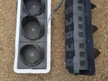 Material For Sale: Used Double Traffic Light Unit