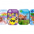 """Buy Now: 96 5""""x7"""" Assorted 24pc Puzzles in Tin Can"""