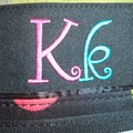 Buy Now: 18 - EMBROIDERED INITIAL DIAPER BAGS WITH CHANGING PAD