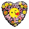 Buy Now: 250 Wholesale Happy Valentine Balloon Heart Shape