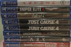 Buy Now: Video Games Wholesale,/ 16 Play station 4 Games / New & Sealed.