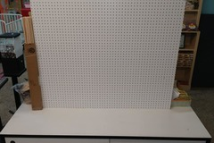 Buy Now: ASSORTED FIXTURES- PEGBOARD, SPINNING SUNGLASSES RACKS,  HAT RACK