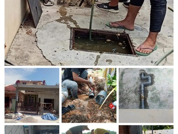 Services: Plumber/renovation sungai merab 01128480861
